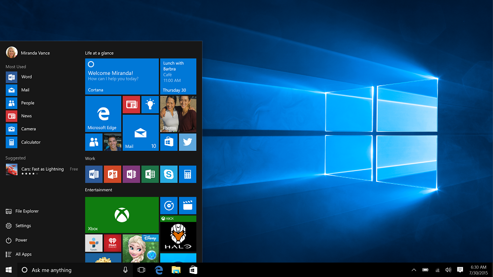 Windows 10 kommt